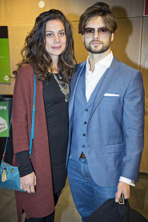 Manuela Bosco ja Kasimir Baltzar erosivat.
