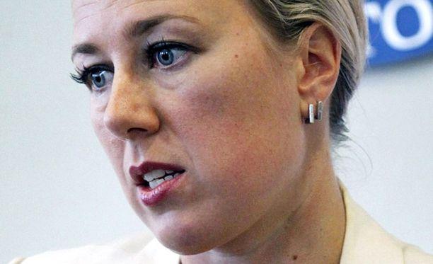 Puheenjohtaja Jutta Urpilainen ei ole onnistunut kääntämään SDP:n kannatusta nousuun.