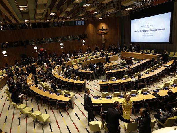 Ydinkieltosopimus sai 122 maan hyväksynnän YK:n yleiskokouksessa heinäkuussa 2017, mutta Honduras on vasta 50. maa, joka on ratifioinut sopimuksen.
