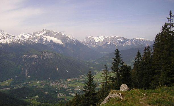 Kiipeilijä katosi Alpeilla vuonna 1987.