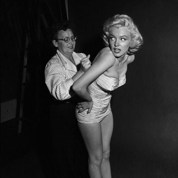 Marilynin muistetaan olleen kokoa 42 – joka tosin vastaa nykyistä kokoa 36.