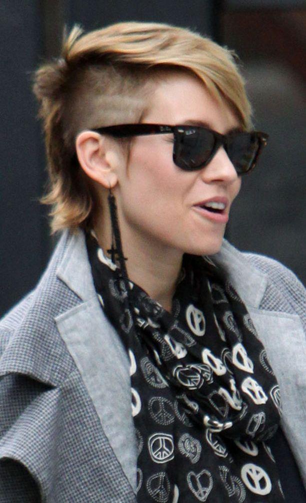 Ex-Pussycat Doll Kimberley Wyattin tukka on erityisen trendikäs.