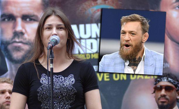 Irlannista kotoisin olevat Katie Taylor ja Conor McGregor kuuluvat kamppailu-urheilun tähtiin.