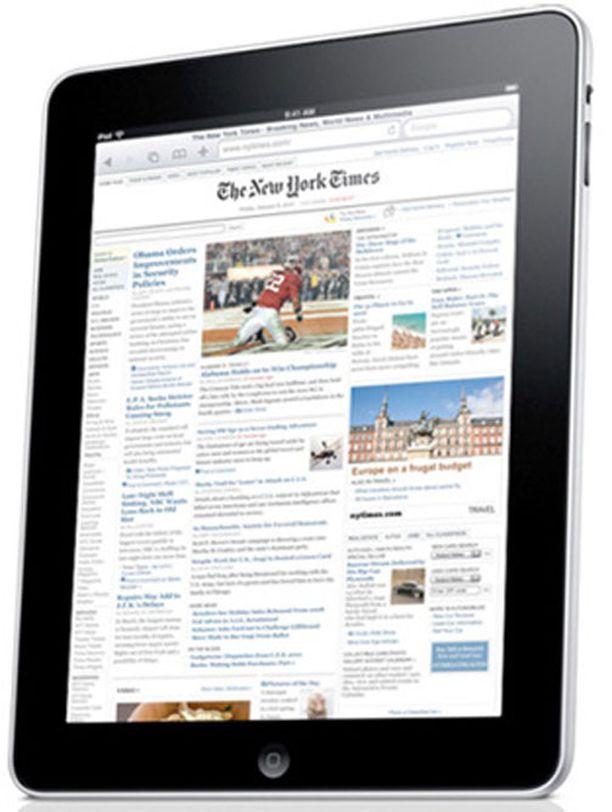 Applen iPad.