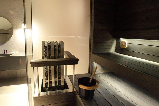 Haawe tarjoaa luksusta huoneistohotellissa viihtyville asukkaille. Esimerkiksi Kelo-sviitin varusteluun kuuluu oma sauna.