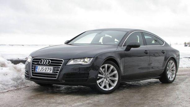 Audi A7 sai vähiten hylkäyksiä katsastuksessa.