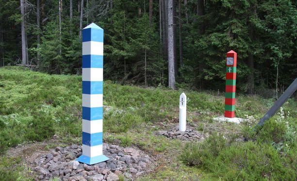 Suomalaismies pyrki jalkaisin Imatralta Venäjälle ilman viisumia. Kuvituskuva.