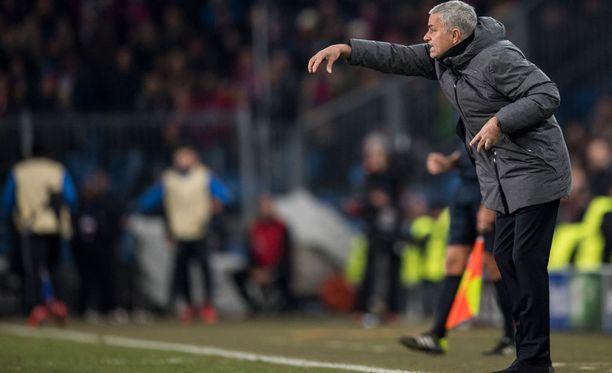 Manchester United -manageri Jose Mourinhon puolustuskuviot ovat toimineet Old Traffordilla mainiosti. ManU on päästänyt tämän kauden 11 kotiottelussa vain viisi maalia.