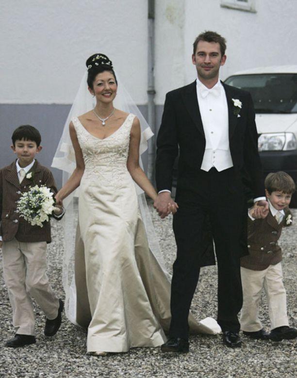 Alexandran pojat Nikolai ja Felix olivat tilaisuuden ainoat kuningashuoneen edustajat.