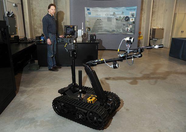 Robotit on suunniteltu kestämään säteilyä, mutta ne hyytyvät yleensä jo muutamassa tunnissa.