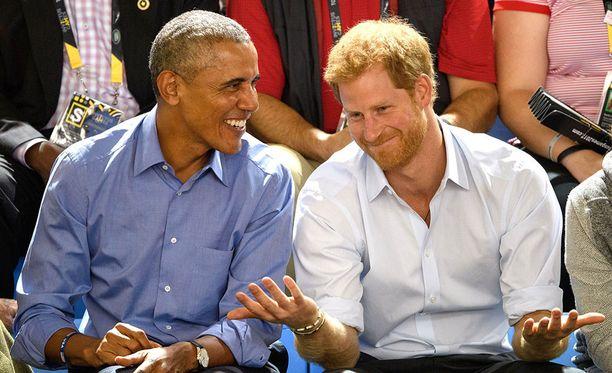Yhdysvaltain ex-presidentti Barack Obama ja prinssi Harry on nähty yhdessä useaan otteeseen Obaman presidenttikauden päätyttyä viime tammikuussa.