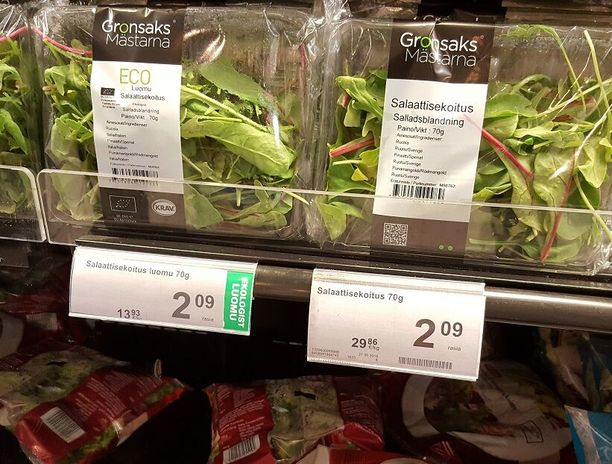 Eri kilohinta, mutta sama yksikköhinta. Helsinkiläismies on vuosia yrittänyt saada Keskon reagoimaan hintaepäselvyyteen, joka on pois kuluttajan kukkarosta.