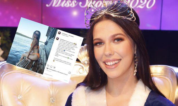 Tuore Miss Suomi Viivi Altonen aloittaa tällä viikolla missiarkensa.