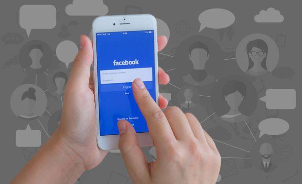 Facebook on jakanut käyttäjien tietoja puhelinvalmistajille. Kuvituskuva.