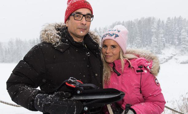 Heikki Lampela ja Hanna Kärpänen ovat jälleen eronneet.