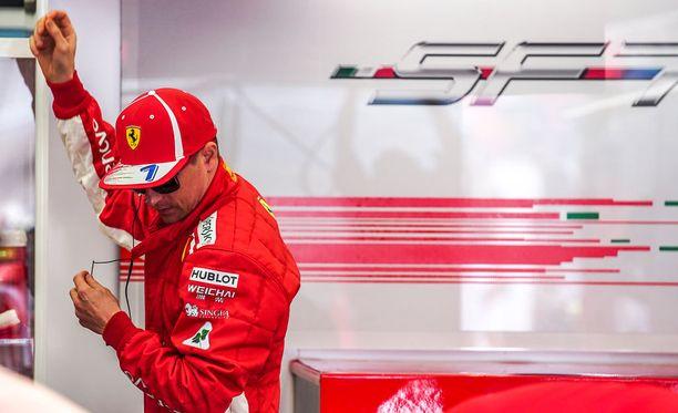 Kimi Räikkösellä on yksi F1:n halutuimmista tallipaikoista.