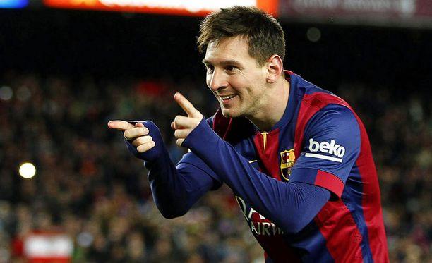 Leo Messin jalkaa koristaa hieman erikoinen tatuointi.