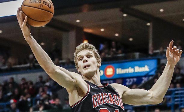 Lauri Markkanen on säväyttänyt otteillaan 45:ssä NBA-ottelussaan.