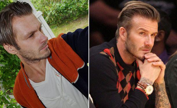Marko on kuin David Beckham.