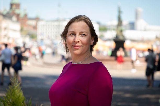 Tytti Yli-Viikari on johtanut VTV:tä vuodesta 2016.