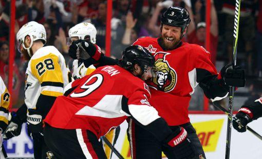 Ottawa juhli edellisessä ottelussa 5-1-voittoa.