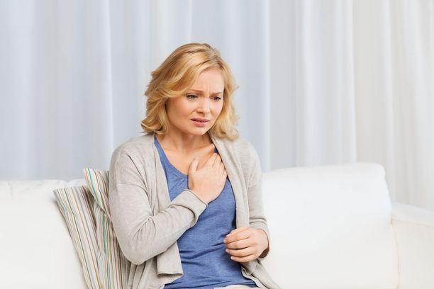 Naisen sydänoireet voivat olla moninaisia.