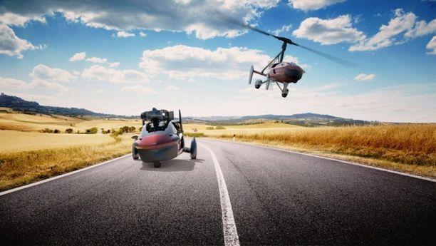 Koska auto nousee myös ilmaan, kuskilta vaaditaan lentolupakirja.