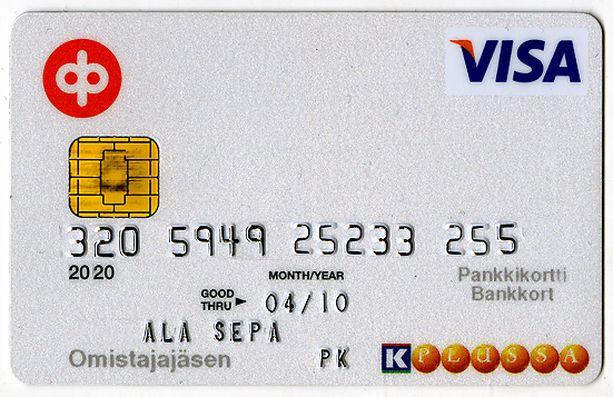 Osuuspankin korttimaksut sakkaavat.