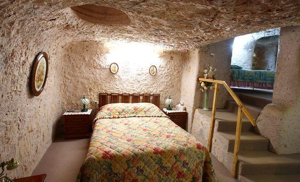 Coober Pedyn onkaloissa on asuttu jo sadan vuoden ajan.