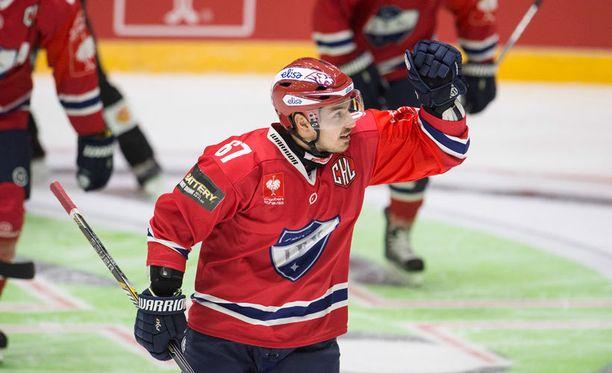 Tomas Zaborskyn HIFK:lla on saumat nousta puhtaalla voitolla kärkeen.