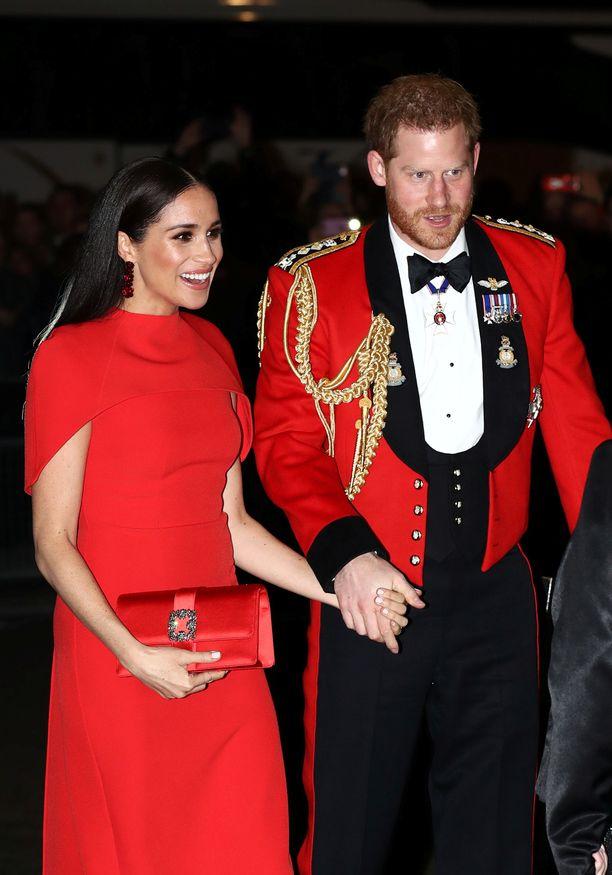 Prinssi Harry on ansainnut sotilasansiomitaleja esimerkiksi Afganistanista.