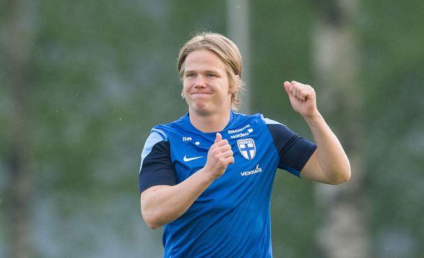 Petteri Forsell pelaa vahvaa kautta Puolassa.