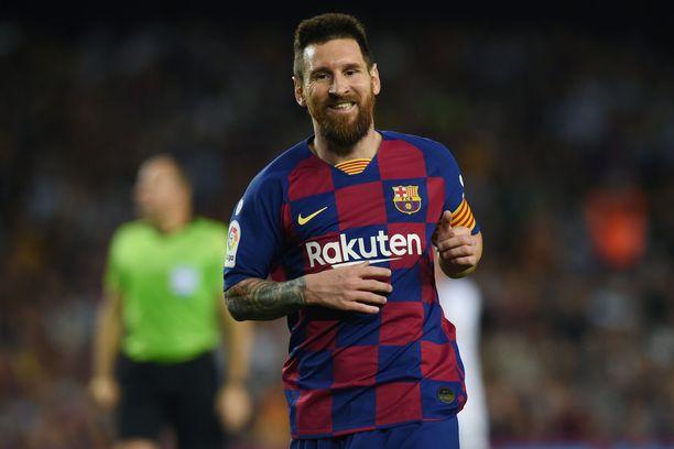Lionel Messi kirmaa taas kentällä.