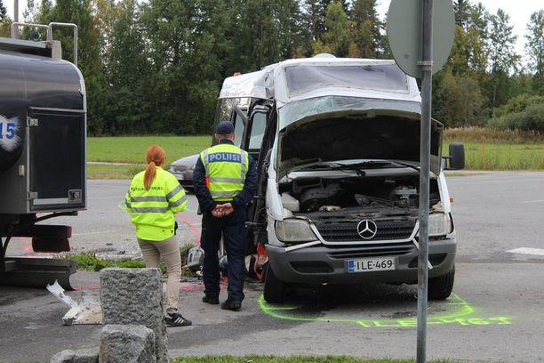 Onnettomuudessa loukkaantuneet ovat pääosin 15-20-vuotiaita nuoria.