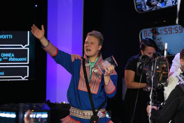 Andte Gaup-Juuso voitti Big Brotherin vuonna 2014.