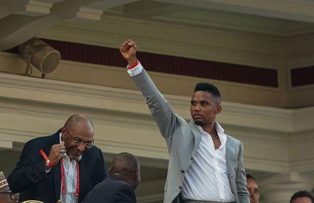 Samuel Eto'o valittiin uransa neljä kertaa Afrikan mantereen parhaaksi jalkapalloilijaksi.