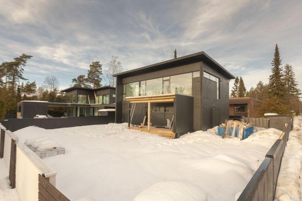 Westendissä sijaitseva CLT-koti on rakennettu tänä vuonna.