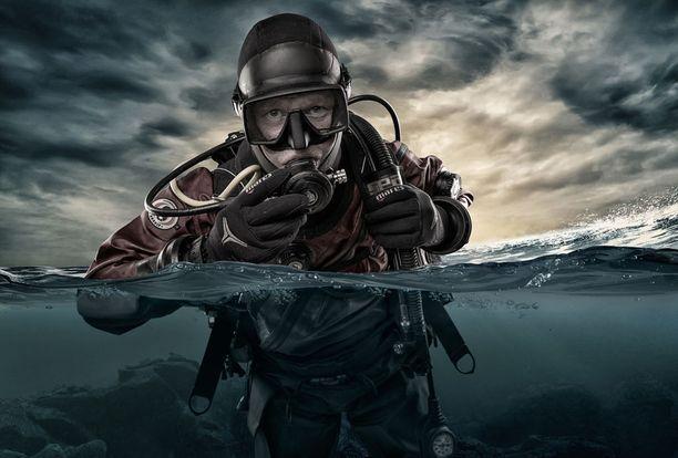 Holy Diver on Markku Pajusen otos kuvituskuva / digitaalinen taide finaalissa.