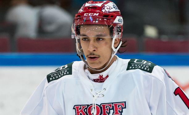Matti Lamberg on edustanut Liiga-tasolla HIFK:ta ja Jokereita.