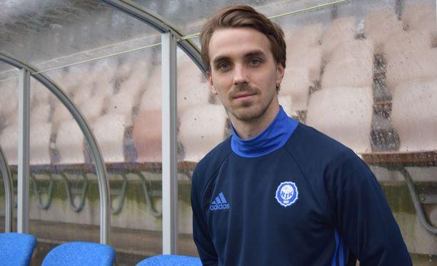 Jarno Parikka palasi HJK:hon neljän vuoden tauon jälkeen.