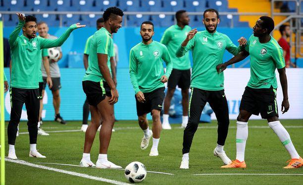 Avausottelussa 0-5-rökäletappion Venäjälle kärsinyt Saudi-Arabia on valmistautunut hyvillä mielin keskiviikon Uruguay-otteluun.