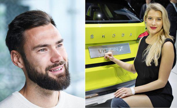 Tim Sparv on seurustellut reilun parin vuoden ajan tšekkiläisen Jitka Novackovan kanssa.