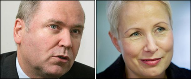 Suvi-Anne Siimes ei ota vielä kantaa Heinäluoman ehdotukseen.