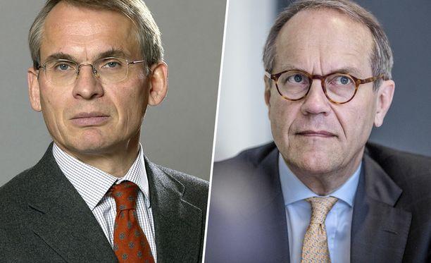 Henrik Ehrnrooth ja Jorma Ollila johtavat CLC:n hallitusta.