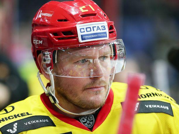 Petri Kontiola pelasi Jokereissa vain syyskauden vuonna 2019.