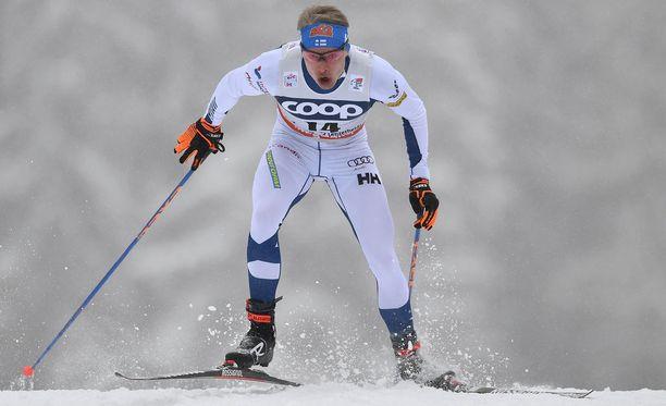Iivo Niskanen oli kuudestoista sunnuntaina Seefeldin maailmancupissa 15 kilometrin vapaan hiihtotavan yhteislähdössä.