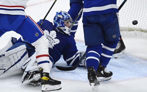 Jesperi Kotkaniemen maali jäi laihaksi lohduksi – Maple Leafs jyräsi voittoon