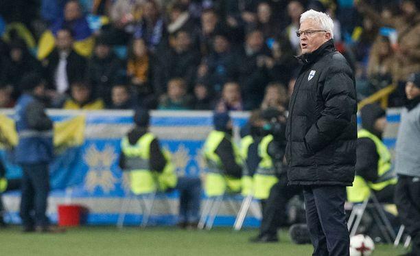 Odessassa pelattu Ukraina-ottelu jäi Hans Backen viimeiseksi Suomen päävalmentajana.