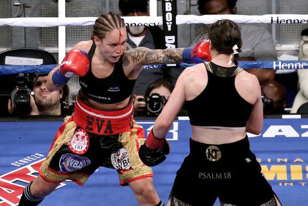 Eva Wahlström otteli edellisen kerran New Yorkissa Katie Tayloria vastaan.