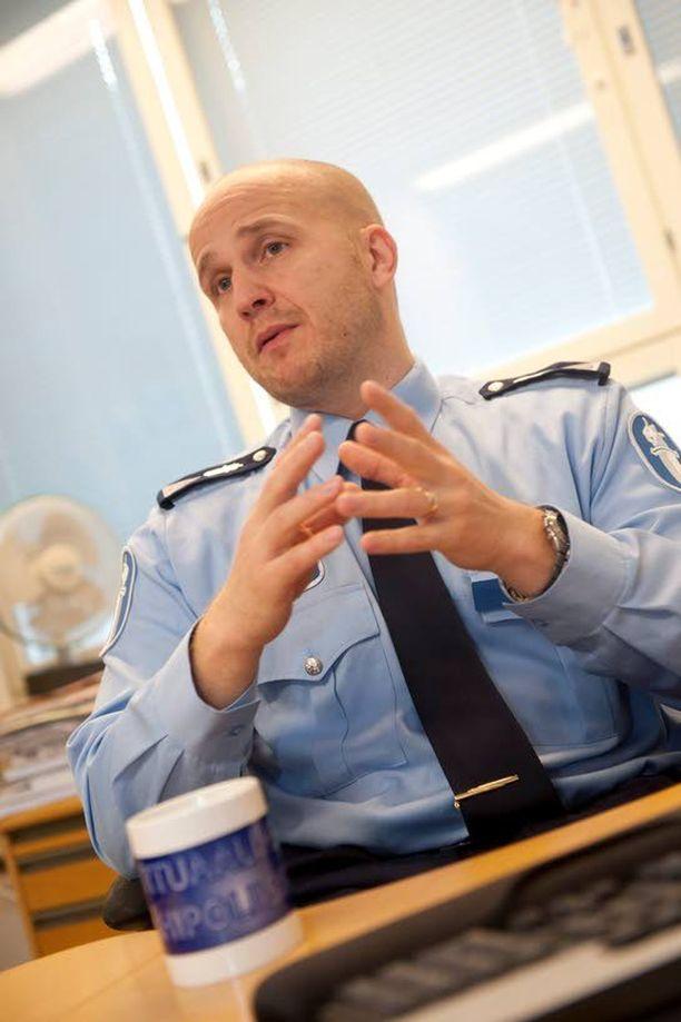 Valeprofiilissa ei ylikonstaapeli Marko Forssin mukaan ole syytä epäillä rikosta.
